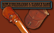 Old West Gun Holsters - Frontier Holsters and Gunleather by Chisholms Trail Leather of Georgia