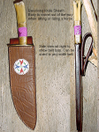 Indian Swivel Sheath