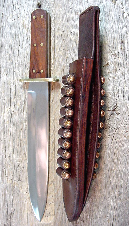 NEW KNIFE AND SHEATH ADDED TO THE CHISHOLM'S TRAIL OLD WEST