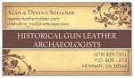 GUN LEATHER ARCHAEOLOGY BUSINESS CARD LOW RES