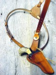 Cross Draw Shoulder Holster