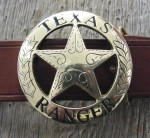 RANGER BADGE BUCKLE