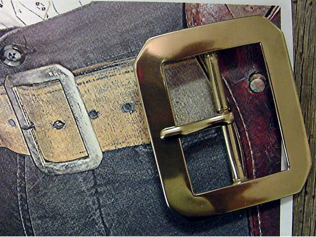 BJ 13 BUCKLE, RANGER CLIPPED CORNER
