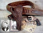 JESSE JAMES LAST HOLSTER & GUN BELT