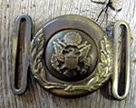 GENERAL PATTON EAGLE BUCKLE