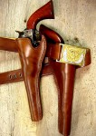Bill Hickock Old West Gun Belt and Holster
