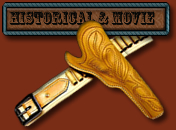 Historical and Movie Cowboy Holsters and Gun Belts