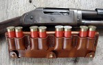 DOUBLE POUCH SHOT GUN SHELL SLIDE